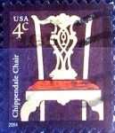 Stamps United States -  Intercambio 0,20 usd 4 cent. 2004