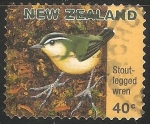 Stamps : Oceania : New_Zealand :  Stout legged wren