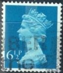 Stamps United Kingdom -  Isabel II decimal Machin