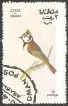 Sellos de Asia - Omán -  Aves