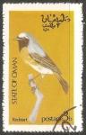 Sellos de Asia - Omán -  Redstart