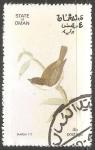 Sellos de Asia - Omán -  Marsh tit
