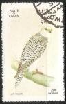 Sellos de Asia - Omán -  Jer falcon