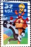 Sellos de America - Estados Unidos -  Intercambio 0,20 usd  32 cent. 1998