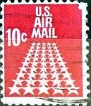 Sellos de America - Estados Unidos -  Intercambio 0,20 usd  10 cent. 1968