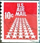 Stamps United States -  Intercambio 0,20 usd  10 cent. 1968