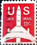 Sellos de America - Estados Unidos -  Intercambio 0,20 usd  11 cent. 1971