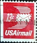 Stamps United States -  Intercambio 0,20 usd  13 cent. 1973