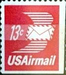 Sellos de America - Estados Unidos -  Intercambio 0,20 usd  13 cent. 1973
