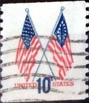 Stamps United States -  Intercambio 0,20 usd  10 cent. 1973