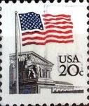 Sellos de America - Estados Unidos -  Intercambio 0,20 usd  20 cent. 1981