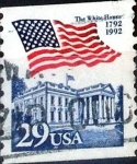 Stamps United States -  Intercambio 0,20 usd  29 cent. 1992
