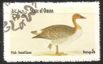 Stamps Oman -  Pink footed goose-Ganso Rosa