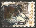 Sellos de Asia - Malasia -  Fauna animal, helarctos malayanus