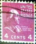 Sellos de America - Estados Unidos -  Intercambio 0,20 usd 4 cent. 1938