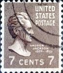 Sellos de America - Estados Unidos -  Intercambio 0,20 usd 7 cent. 1938