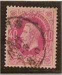 Stamps Belgium -  Leopoldo II - 1869-78