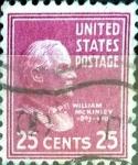 Sellos de America - Estados Unidos -  Intercambio 0,20 usd 25 cent. 1938