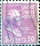 Stamps United States -  Intercambio 0,20 usd 50 cent. 1938