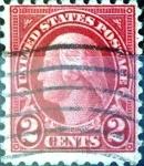 Sellos de America - Estados Unidos -  Intercambio 0,30 usd 2 cent. 1924