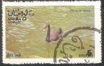 Sellos de Asia - Omán -  Black swan-Cisne Negro