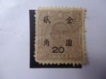 Sellos de Asia - China -  Yat-Sen  (1866-1925)