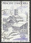 Stamps : Europe : Andorra :  Vista de Pal