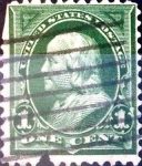 Stamps United States -  Intercambio 0,50 usd 1 cent. 1898