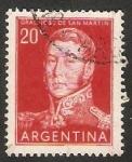 Stamps Argentina -  General José San Martín