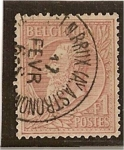 Sellos del Mundo : Europa : Bélgica : Leopoldo II (1884-91)