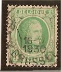 Sellos de Europa - Bélgica -  Albert - (1921-27)
