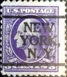 Sellos de America - Estados Unidos -  Intercambio 5,00 usd 3 cent. 1916
