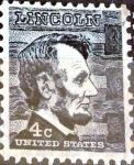 Sellos de America - Estados Unidos -  Intercambio 0,20 usd 4 cent. 1965