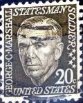 Sellos de America - Estados Unidos -  Intercambio 0,20 usd 20 cent. 1967
