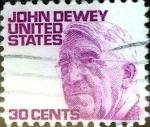 Sellos de America - Estados Unidos -  Intercambio jxi 0,20 usd 30 cent. 1968
