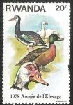 Stamps Rwanda -  1978 annee de elevage