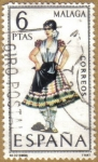 Stamps of the world : Spain :  MALAGA - Trajes tipicos españoles