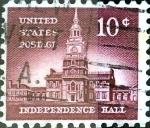 Sellos de America - Estados Unidos -  Intercambio 0,20 usd 10 cent. 1956