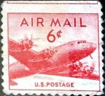 Stamps United States -  Intercambio 0,20 usd 6 cent. 1949