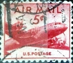 Sellos de America - Estados Unidos -  Intercambio 0,20 usd 5 cent. 1947