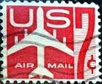 Sellos de America - Estados Unidos -  Intercambio 0,20 usd 7 cent. 1960