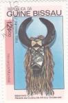 Stamps Guinea Bissau -  máscara costa de Africa Oriental