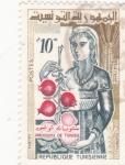Stamps Tunisia -  productos de Túnez