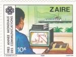 Sellos de Africa - República del Congo -  año mundial de las comunicaciones