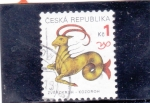 Stamps Czech Republic -  horóscopo- capricornio