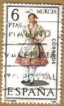 Stamps Spain -  MURCIA - Trajes tipicos españoles