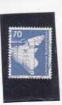 Stamps Germany -  proa de un buque