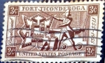 Stamps United States -  Intercambio jxi 0,20 usd 3 cent. 1955