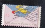 Sellos de Europa - Alemania -  sobre y angel