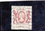 Stamps Hong Kong -  reina Isabel II